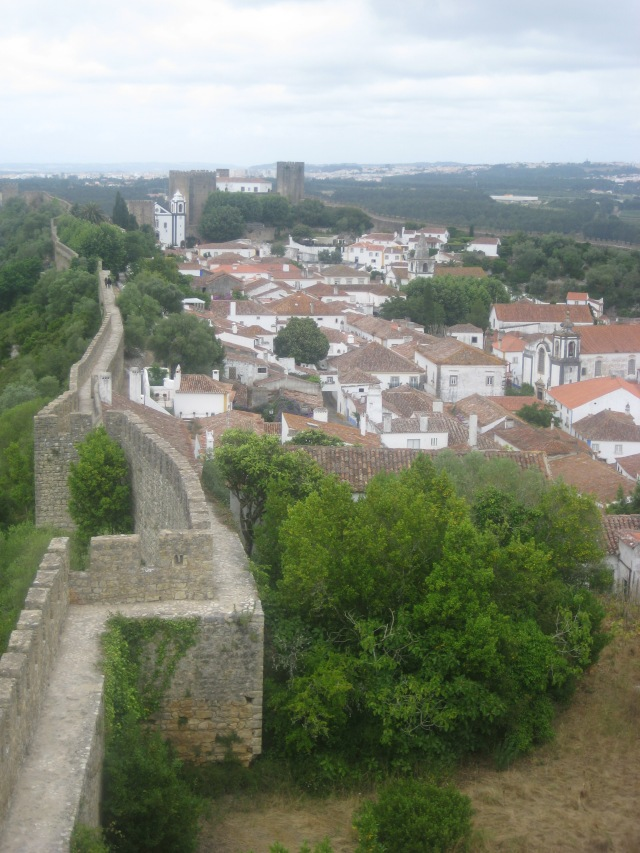 Óbidos, Portugal- The city built inside a castle wal